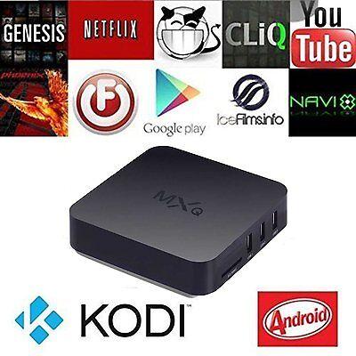 MXQ Smart TV Box Android 4.4 1G / 8G 4K WIFI Quad Core S805 Media Player US