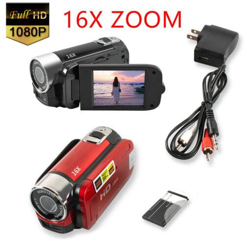 Camera 1080P HD Camcorder Digital Video Camera 16x Zoom HD Digital Video Camera