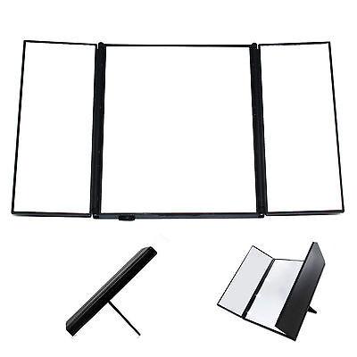 Foldable 8 LED Light Illuminated Make Up Cosmetic Tabletop Beauty Vanity Mirror