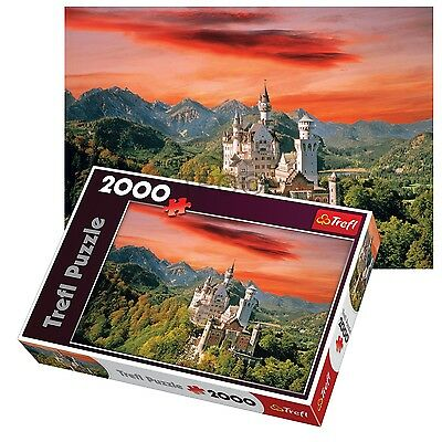 Trefl 2000 Piece Adult Large Neuschwanstein Castle Germany Floor Jigsaw Puzzle