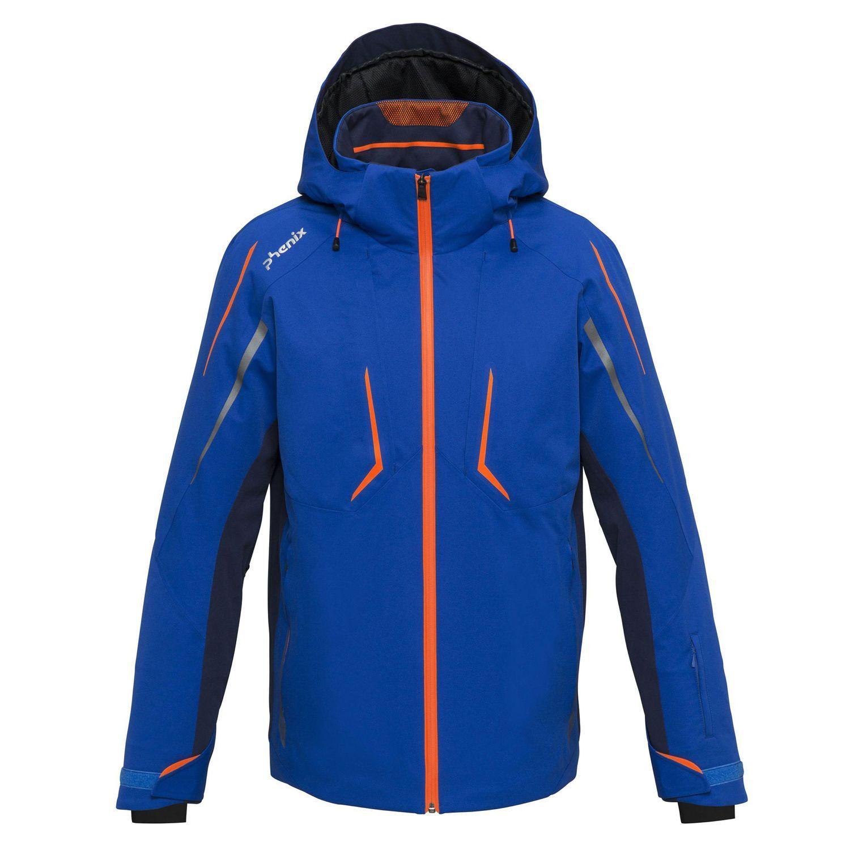PHENIX Shiga Jacket Men Skijacke Herren Ski Jacke royal blau M 50 L 52 XL 54 56