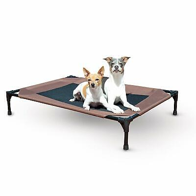 Large Portable Dog Bed Indoor Outdoor Pet Cot Travel Camping Holds 150lbs New ()