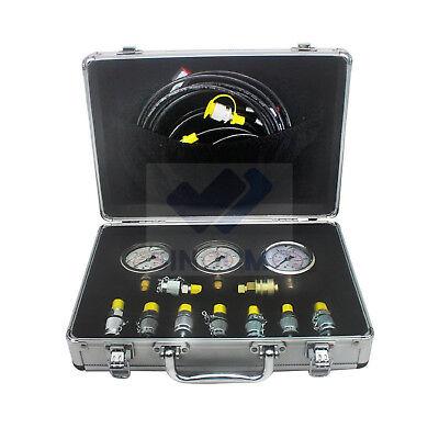 Hydraulic Pressure Gauge Diagnostic Test Kit For Cat Komatsu Pressure Test Kit