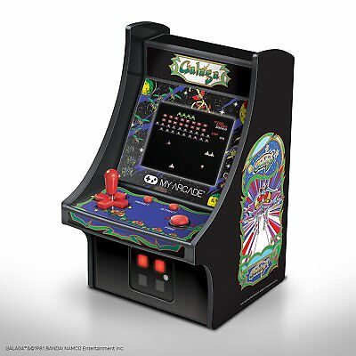 MY ARCADE Bandai Namco GALAGA Micro Arcade Machine Portable Handheld Video Game