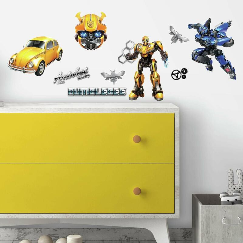 RoomMates Transformers Bumblebee Peel And Stick Wall Decals