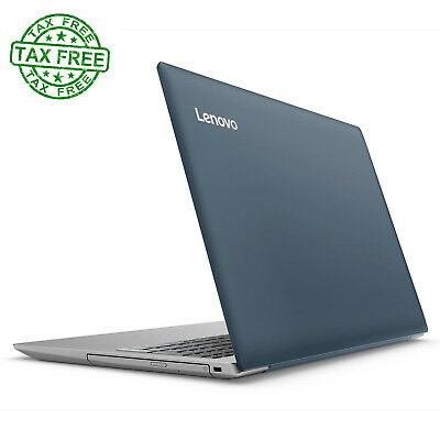Blue 15 6 Inch Laptop Dual Core 4Gb Windows 10 1Tb Hard Drive Lenovo Ideapad