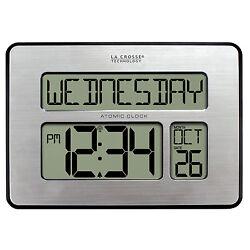 513-1419 La Crosse Technology Large Digital Non Abbreviated Day Dementia Clock