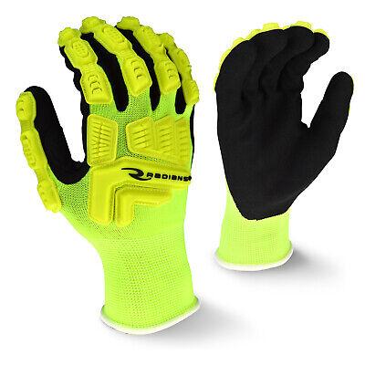 Radians Rwg21 Impact Protection Hi-viz Work Glove