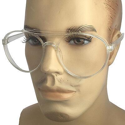 Retro Round Vintage Large Thick Frame Full Rim Clear lenses Eyeglasses (Thick Rimmed Round Glasses)
