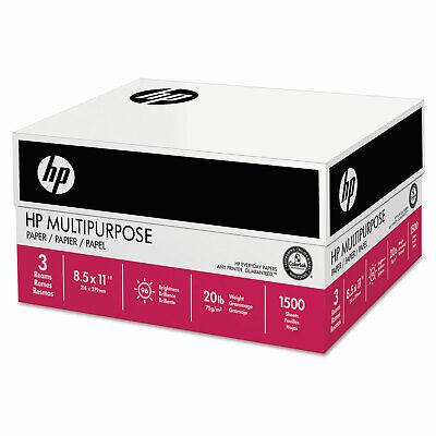 Hp Papers Multipurpose20 Paper 96 Bright 20lb 8.5 X 11 112530