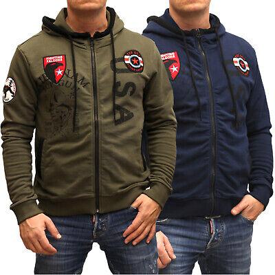 Top Gun Herren Sweatjacke Pullover Hoodie Sweatshirt mit Reißverscluss Zipper online kaufen