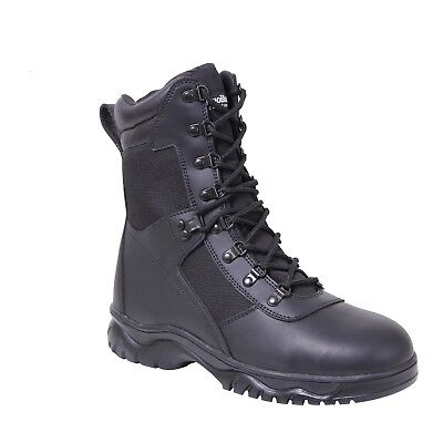 Insulated Waterproof Side Zip Boot (Insulated 8 Inch Side Zip Tactical Boot Waterproof Black 5073 Rothco )