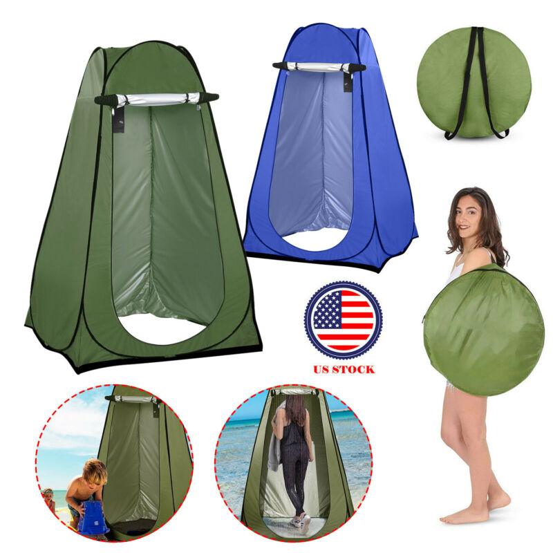 Portable Outdoor Privacy Tent Outdoor Shelter Shower Dressing Room Camp Toilet