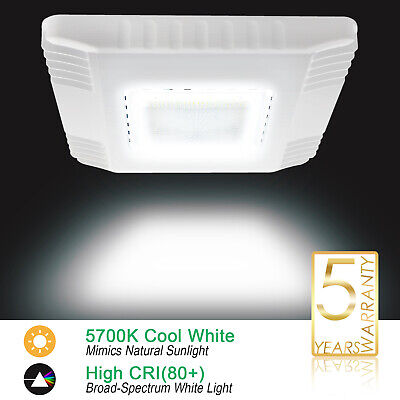 150watt Led Gas Station Canopy Lights Waterproof Ip65 19500lm Fixture 5700k