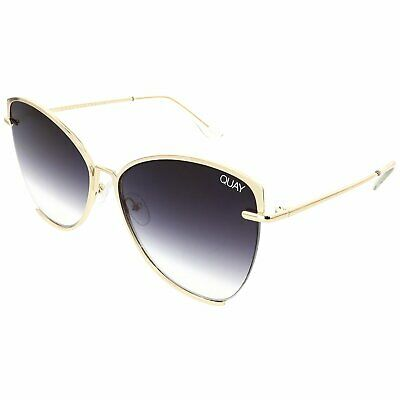 Quay Women's Gradient Dusk To Dawn QW-000412-GLD/SMK Gold Butterfly (Butterfly Gradient)