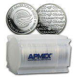 1 oz Silver Round Great American Mint (GAM) (Lot, Roll Tube of 20) - SKU #92152