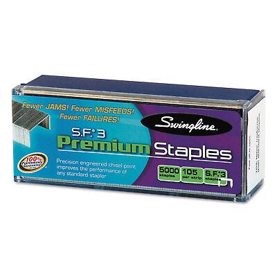 Swingline S.f. 3 Premium Chisel Point 105 Count Half-strip Staples 5000box
