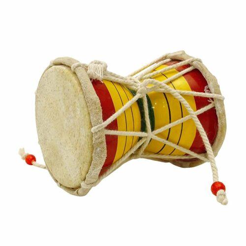 Fine Quality Wooden indian Musical Instruments Damaru