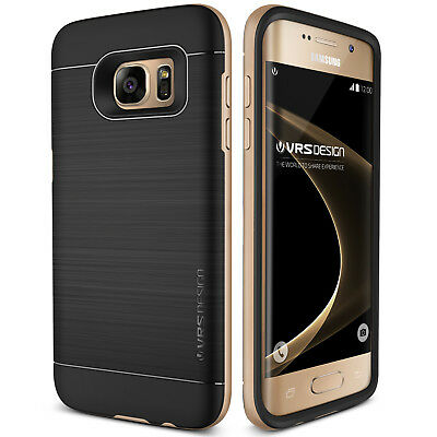 (For Galaxy S7/S7 Edge Case VRS®️ [High Pro Shield] Slim Thin Shockproof Cover)