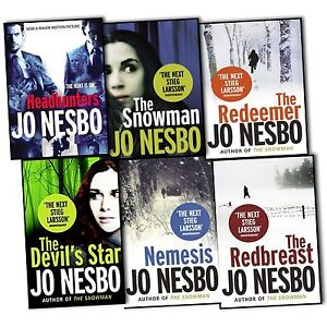 Jo-Nesbo-6-Books-Collection-Headhunters-The-Redeemer-The-Snowman-Nemesis
