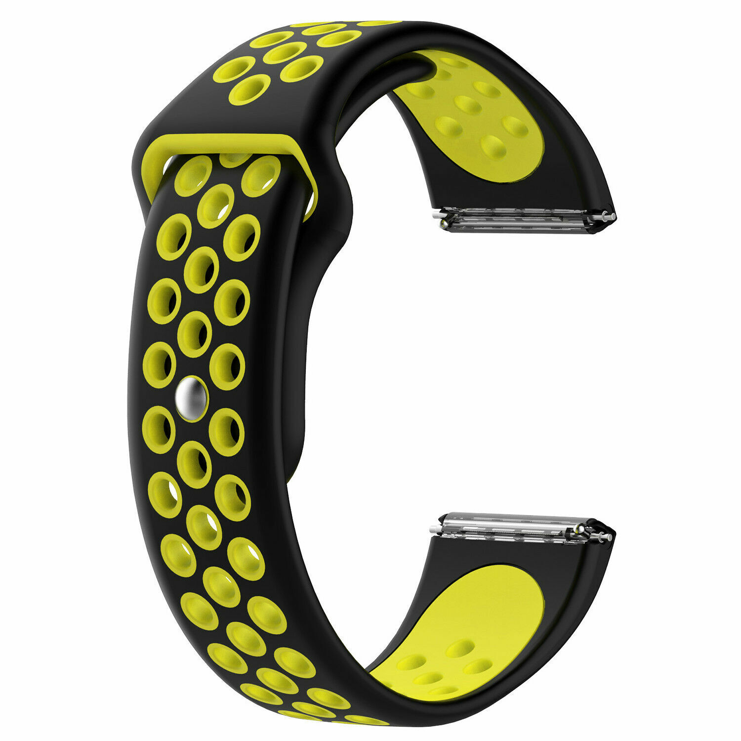 Sport Silicon Replacement Wristband Strap Breathable Watch Band For Fitbit Versa 7