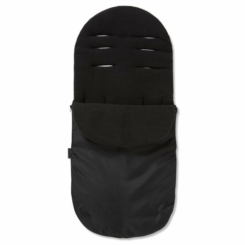 Footmuff / Cosy Toes For Out N About Nipper Single 360 Pushchair Black Jack