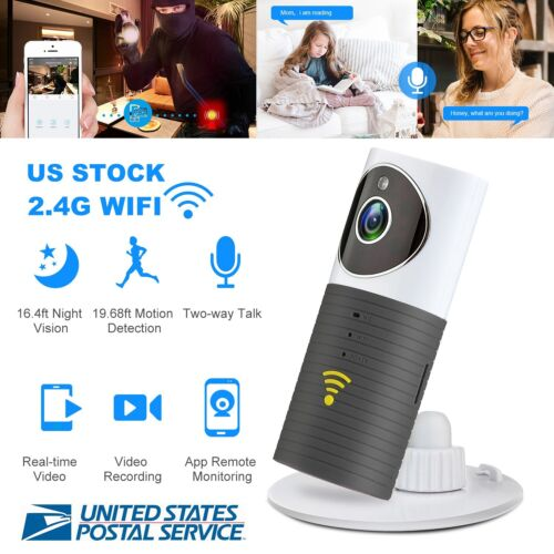WIFI IP Camera Home Security Wireless Audio P2P IR Night Vis