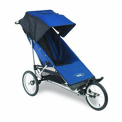Advance Mobility Freedom Special Needs Stroller Push Chair - Navy Free Shipping!