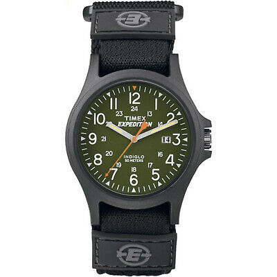 Timex® Men's Expedition Acadia Green/Black Fast Wrap Vel