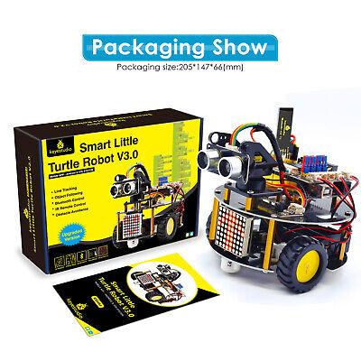 Keyestudio Programming Smart Car Robot Robotics Starter Diy Kit V3.0 For Arduino