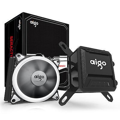 Aigo CPU Liquid Cooler Kit 120mm Fans Water Cooling Radiator System