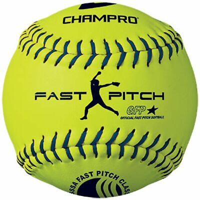 Champro USSSA 12 in FastPitch Durahide Cover Softball .47COR CSB44