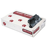 Jaguar Plastics Low-Density Can Liners 40-45 Gallon .7mil Black 100/Carton