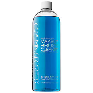 Brush cleaner spray