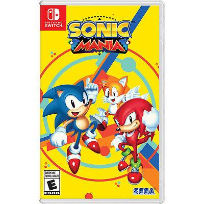 Sonic Mania Switch [Brand New]