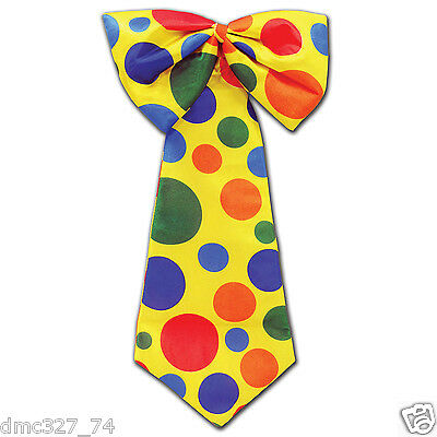 Circus CARNIVAL Halloween Party Prop Costume Accessory Jumbo CLOWN Neck - Circus Halloween Party