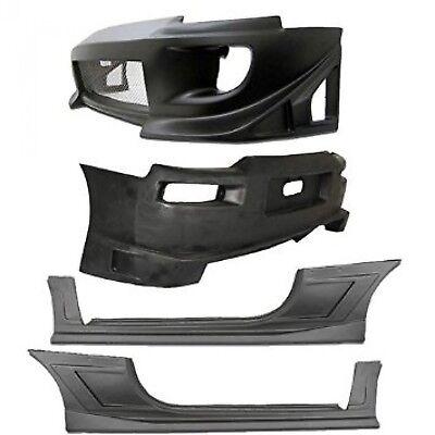 KBD Body Kits Blits Style Polyurethane Body Kit Fits Mitsubishi Eclipse 00-05 05 Mitsubishi Eclipse Polyurethane