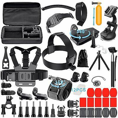 GoPro Accessories Kit For GoPro Hero 7 6 5 Black 4 3 Session Action Camera NEW
