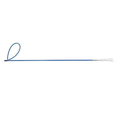 Fiberglass Fish Pole (Trident Solid Fiberglass Pole Spear Fish Gun with Barbed Paralyzer Tip 5)