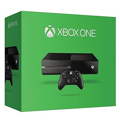 BRAND NEW MICROSOFT XBOX ONE 500GB CONSOLE BLACK GAME BUNDLE !!