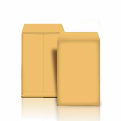 Catalog Mailing Envelopes Peel Seal 10x13 Inch Brown Kraft 100-pack Durable