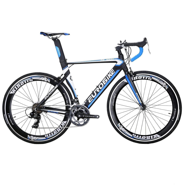fbdbee84914 EUROBIKE XC7000 54CM Aluminum Road Bike 14 Speed 700C Racing Bicycle mens  bikes