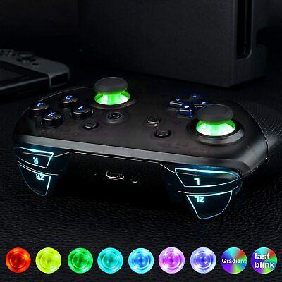 Multi-Colors Luminated Nintendo Switch Pro Controller LED Easy Install Light Kit