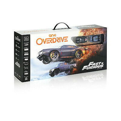 Anki Overdrive Fast & Furious Edition Super Car Remote App Control Cars W/ Track