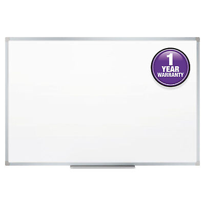 Mead Dry-erase Board Melamine Surface 48 X 36 Silver Aluminum - Mea85357