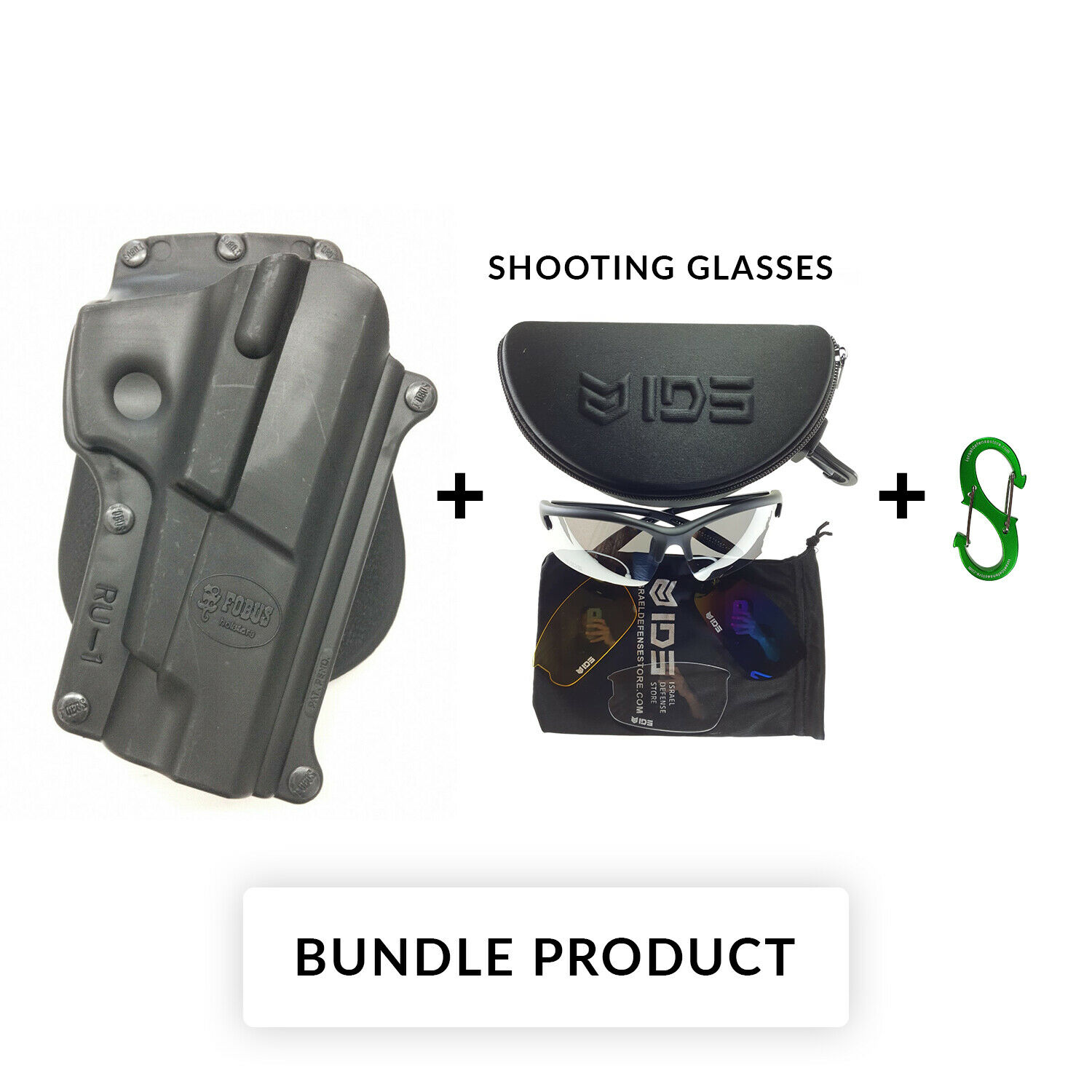 Details about BUNDLE New Fobus RU1 Black Paddle Holster Right Hand For  Ruger P89 Polymer