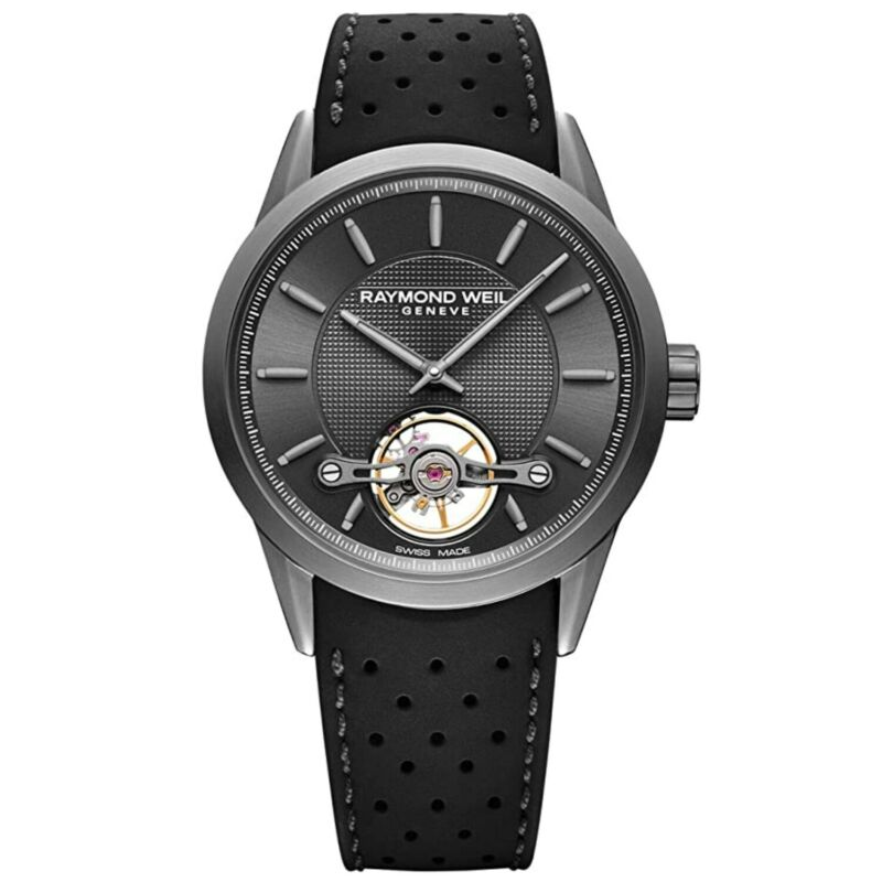 Raymond Weil 2780-TIR-60001 Men Freelancer Black Automatic Watch