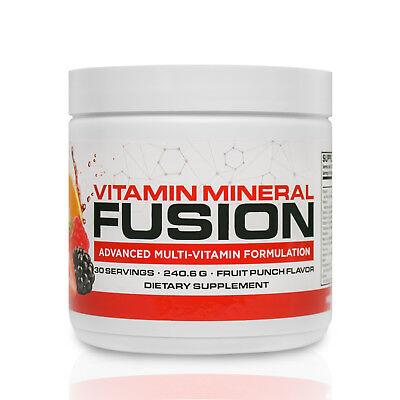 Infowars Life  Vitamin Mineral Fusion Multivitamin  30 Servings  Fruit Punch
