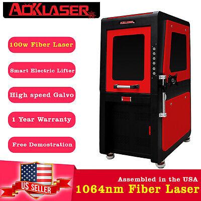 Aok Laser 100w Fiber Laser Marking Machine Laser Engravercutter 1064nm