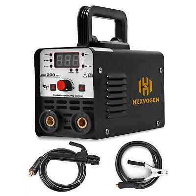 Arc Welder Portable Mini Digital Mma Welding Machine 220v Lift Tig Stick Igbt